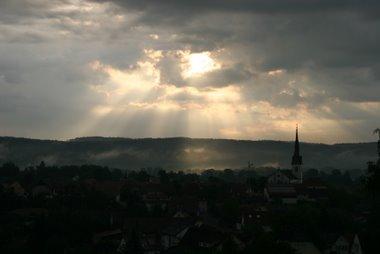 Sonnenaufgang - Wahlwies