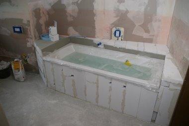 Mischbatterie für bad