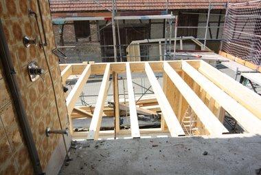 Decke zum 2nd floor