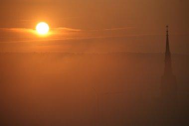 Sonnenaufgang über Wahlwies