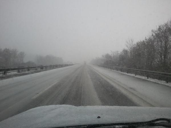Schneefahrt