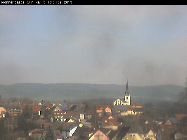Webcam am BronnerCastle: 13:34