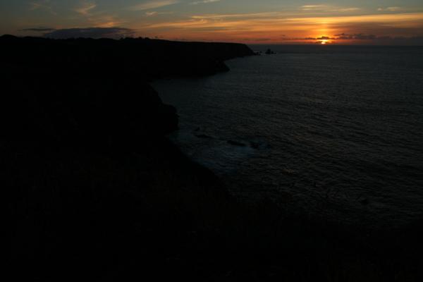 Sonnenuntergang - Bretagne