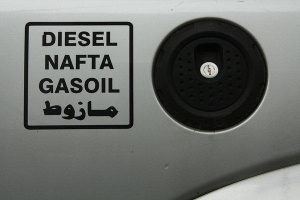 kein Diesel angekommen