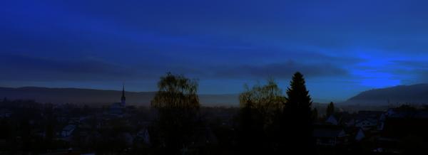 Zeit für den Sonnenaufgang