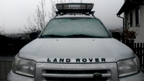 Landrover Freelander Schnee