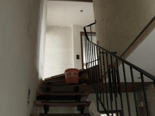 Treppenhausbaustelle