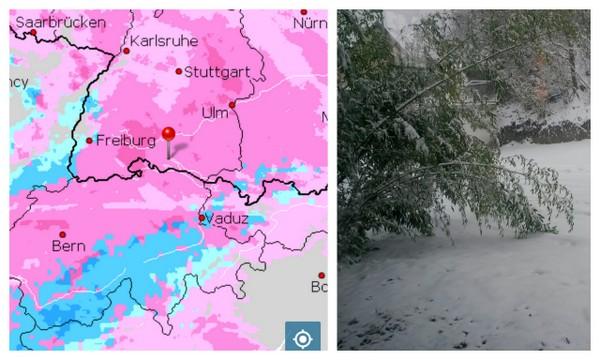 Schnee - kurz vor Jahresschluss