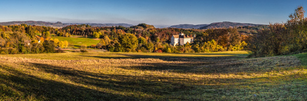 Herbstfarben - Schloss Langenstein