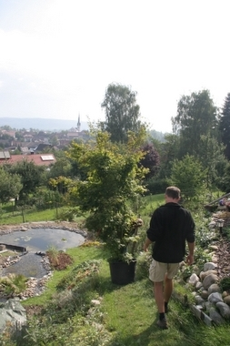 ab in den Garten