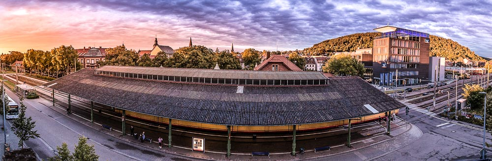 Sonnenuntergang über Ettlingen