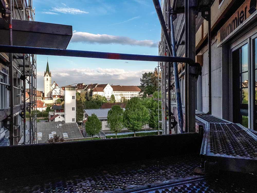 Aussicht in Richtung Altstadt