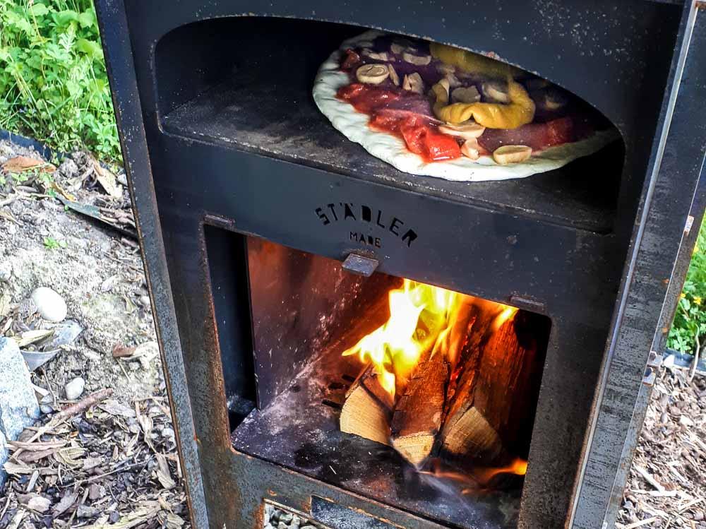 Pizzaofen aus der Winterpause