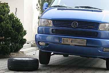 Reifenwechsel T4