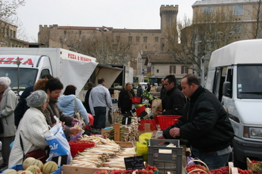 Markttag - Salon de Provence