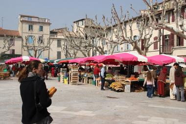 Markt in Beaucaire