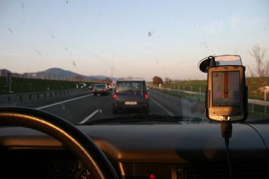 auf der schweizer Autobahn