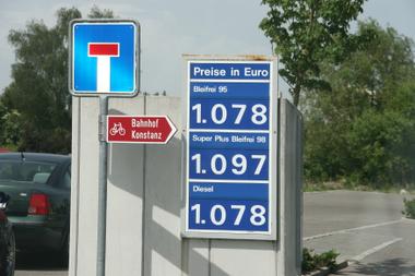 Kraftstoffpreise Schweiz
