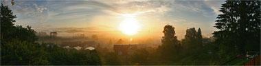 Sonnenaufgang �ber Wahlwies